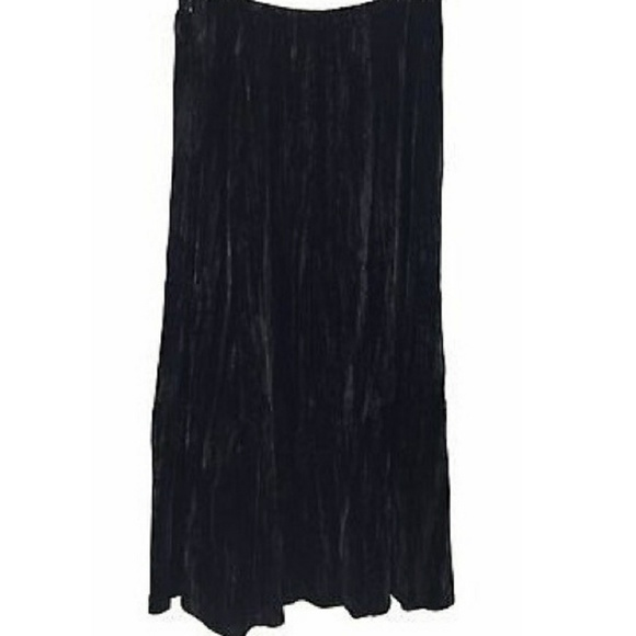 J. Jill Dresses & Skirts - J. Jill Silk Velvet Long Skirt